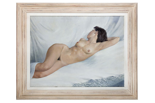 Unknown Artist, 'Reclining Female Nude', 1993, Chiswick Auctions