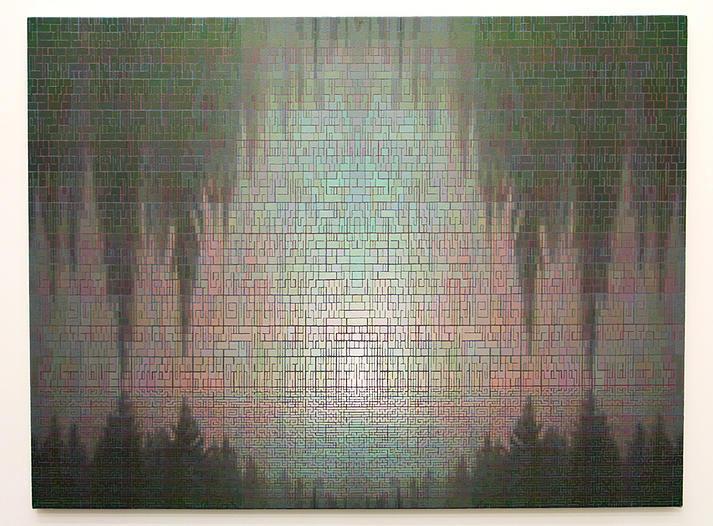 Dan Hays Colorado impression 16d 2007 Oil on canvas 107 x 137 cm