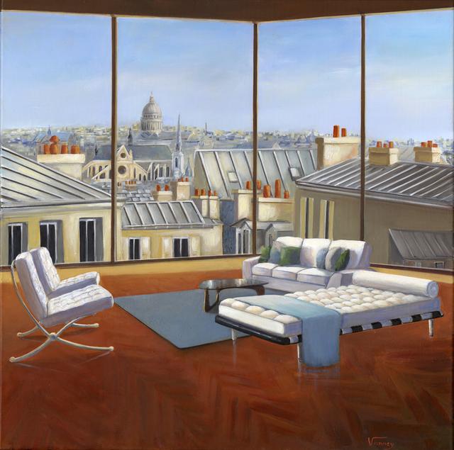 , 'L'air de Paris,' 2018, 3 cerises sur une étagère