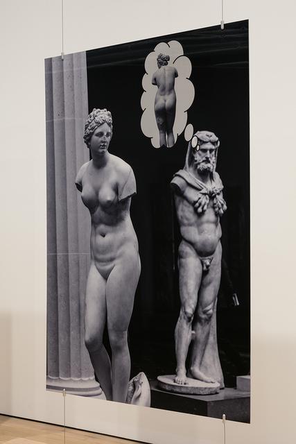, 'Hercules and Aphrodite,' 2018, MARTOS GALLERY