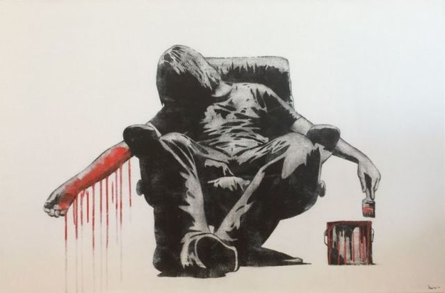 , 'Suicide Painter,' 2014, Galerie Kronsbein