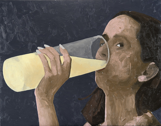 Ryan Mendoza, 'Woman drinking', 2001, Il Ponte
