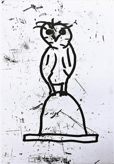 , 'Owl (Plate VI),' 1992, Alpha 137 Gallery