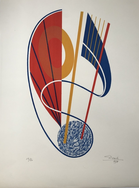 Cesar Domela, 'Untitled', 1944, Digard Auction