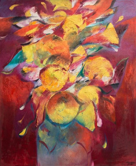 , 'Golden Flowers,' 2002, Hai Hui Gallery