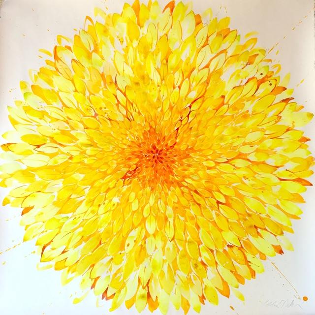 Idoline Duke, 'Big Yellow Flower ', 2019, ARC Fine Art LLC
