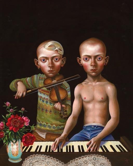 , 'Duet,' 2014, Catharine Clark Gallery