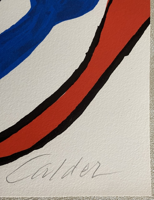 Alexander Calder, 'Galactic System', 1974, Print, Color lithograph on Arches paper, full sheet, Puccio Fine Art