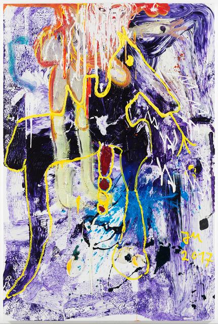 """, '""""DER TROJANISCHE BLUBBI..."""",' 2017, Galerie Krinzinger"""