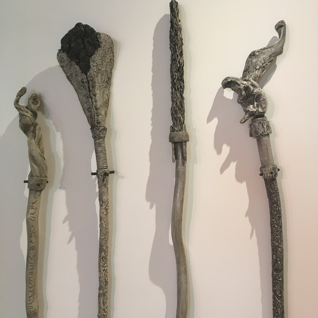 , 'Pathing Sticks,' , Keene Arts