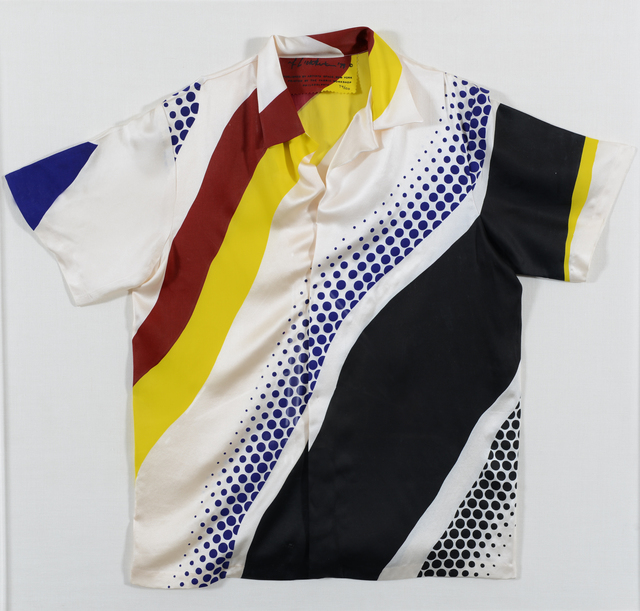 Roy Lichtenstein, 'Untitled ', 1979, Print, Silkscreen printed with pigment on silk sateen and sewn into a basic shirt design, Chelsea Art Group