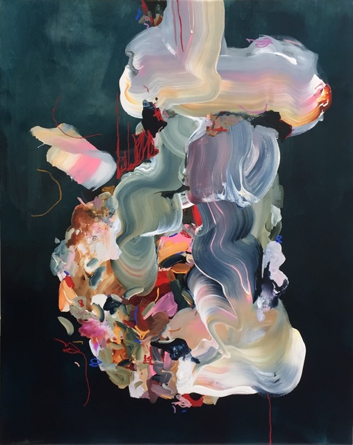 Janna Watson, 'Joy Comes from Inside', 2021, Painting, Mixed media on panel, Bau-Xi Gallery