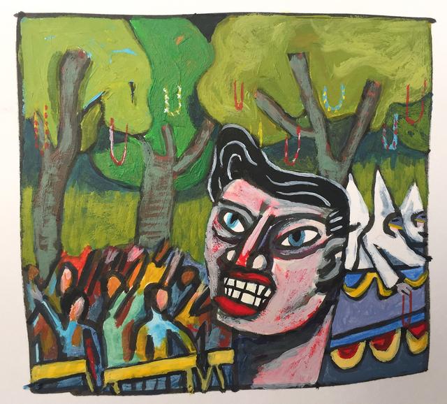 David Lambert, 'Mardi Gras', 2016, LeMieux Galleries