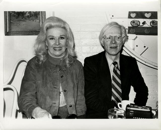 Andy Warhol, 'Ginger Rogers & Andy Warhol', 1985, The Future Perfect