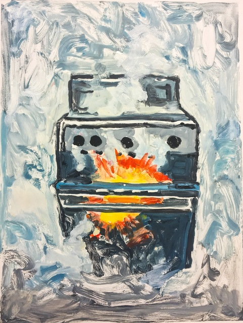 , 'Oven Fire,' 2017, Cross Contemporary Partners