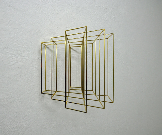 , 'Wing #3 (gold),' 2016, The Flat - Massimo Carasi