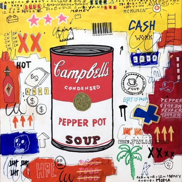 Sainte Fauste, 'CAMPBELL'S PEPPER SOUP', 2019, Poulpik Gallery