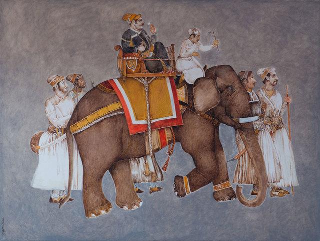 , 'Maharaja of Bundi,' 2016, Albemarle Gallery   Pontone Gallery