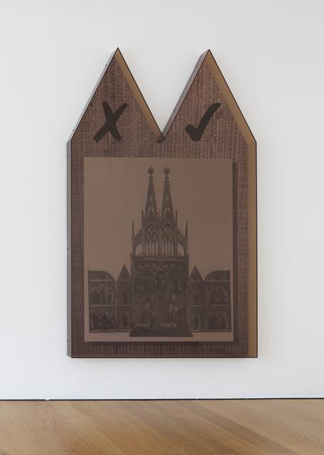 , 'Synthesiser (negative affirmative),' 2013, Galerie Rüdiger Schöttle