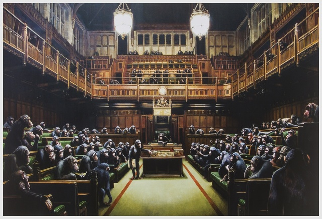 Banksy, 'Monkey Parliament', 2009, Forum Auctions