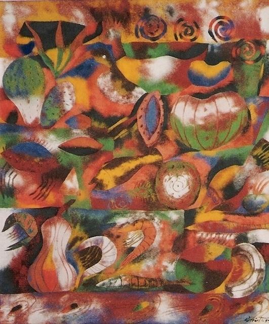 , 'Bodegón II,' 1993, Oscar Roman