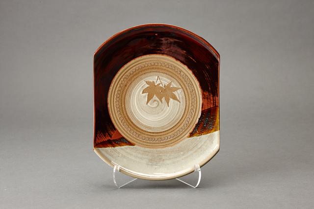 , 'Sweet tray (kashiki), maple leaf decoration and kakewake,' , Pucker Gallery