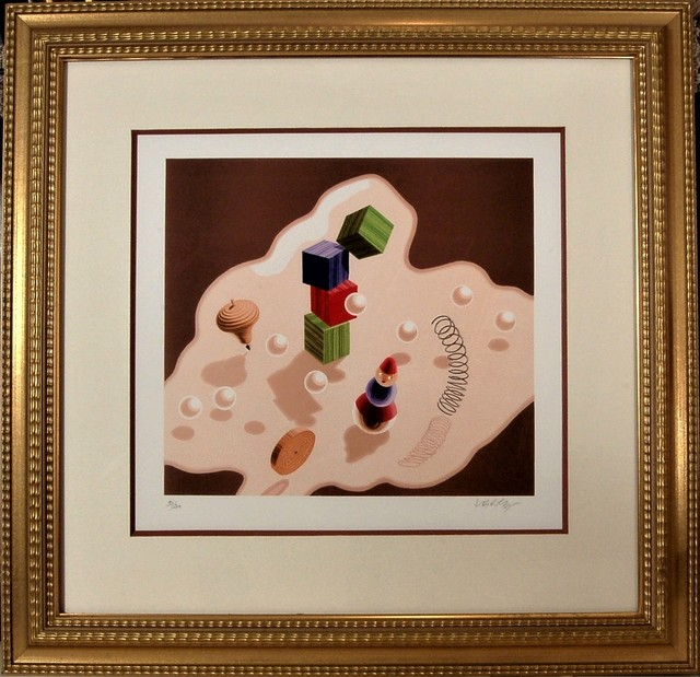 Victor Vasarely, ' Origine II', 1986, Joseph Grossman Fine Art Gallery