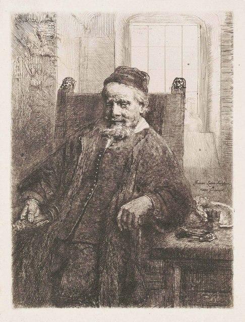 Rembrandt van Rijn, 'Jan Lutma, Goldsmith', 1656, Christie's