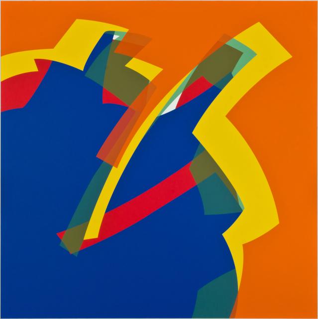 , 'Azul - Naranja PCV,' 2013, Marion Gallery