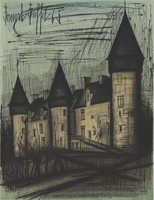 Bernard Buffet, 'Chateau de Culan', 1965, ArtWise