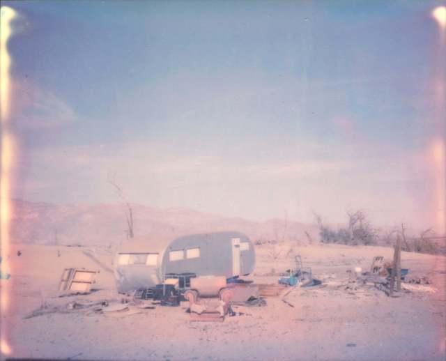 Stefanie Schneider, 'California Badlands III', 2016, Photography, Digital C-Print based on a Polaroid, not mounted, Instantdreams