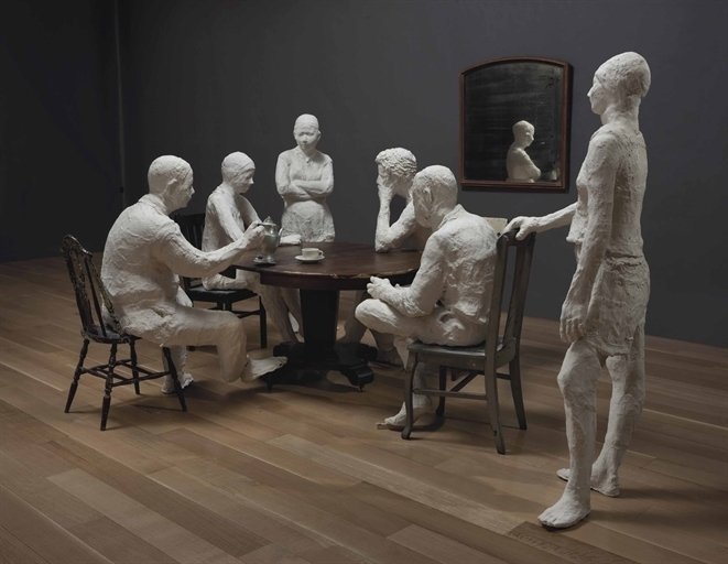 George segal the dinner table artsy - American history x dinner table scene ...