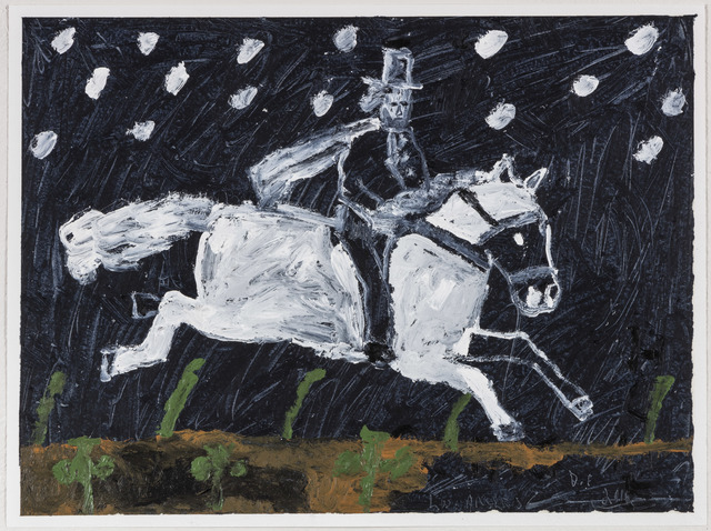 , 'Rider in snow,' 2016, V1 Gallery