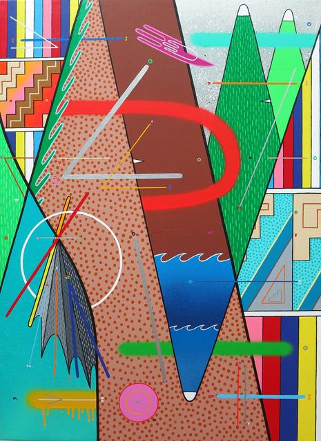 ", '""Naturaleza abstracta 04"",' 2017, sc gallery"