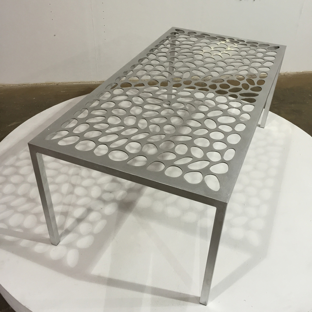 , 'Nest Aluminum Table,' 2015, Pan American Art Projects