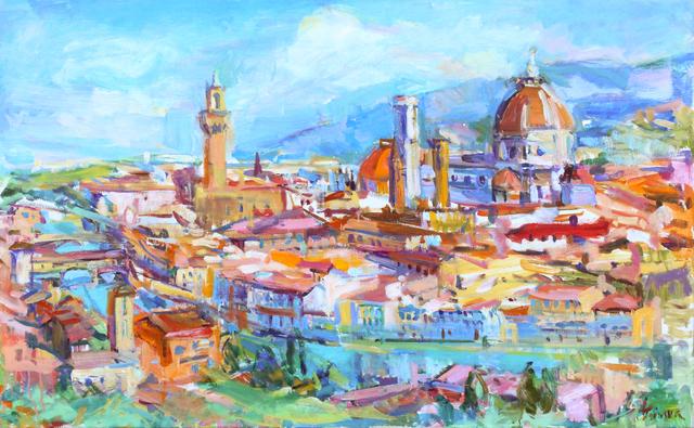 , 'Florence Piazza Michelangelo,' , Spalding Nix Fine Art