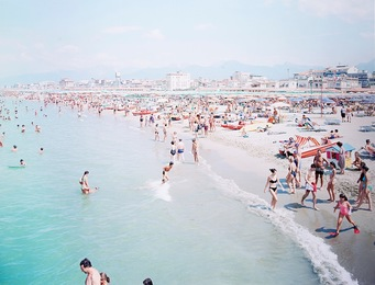 "Viareggio Red Fins, from Portfolio ""Landscapes with Figures"""