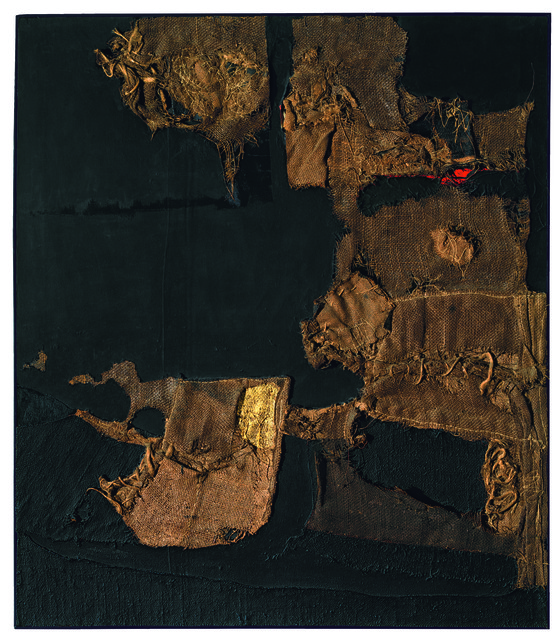 , 'Sacco e oro (Sack and Gold),' 1953, Guggenheim Museum