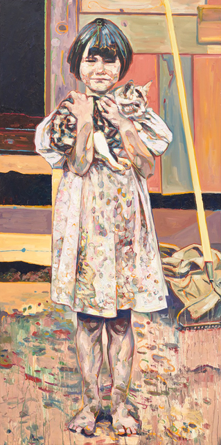 , 'Barefoot Girl with Cat,' , Gail Severn Gallery