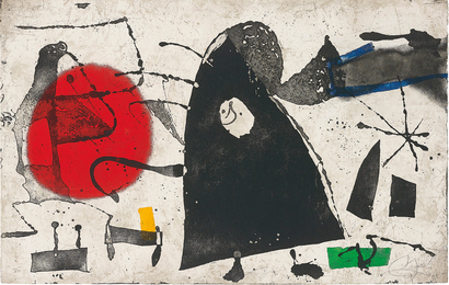 Joan Miró, 'Els Gossos (The Dogs),' 1979, Phillips: Evening and Day Editions