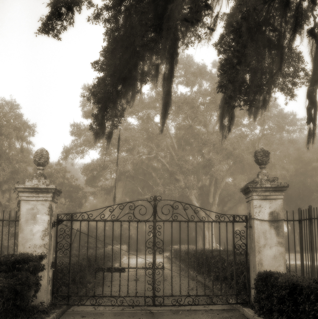 , 'Brignac Estate Gate ,' , Paraphé
