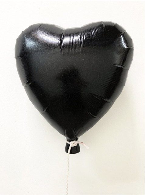 , 'Glitter Balloon-Black ,' 2018, Wallspace