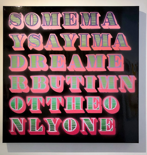 , 'Some Say I'm a Dreamer,' 2018, Krause Gallery