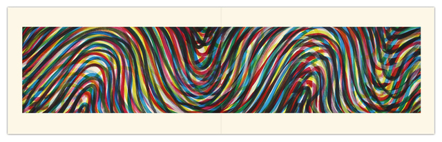 , 'Wavy Horizontal Lines (Diptych),' 1996, Alan Cristea Gallery