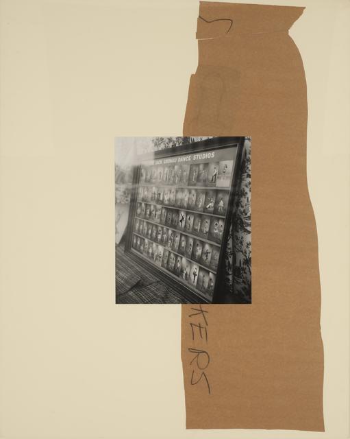 John Gossage, 'S Kers', 1989, Casemore Kirkeby
