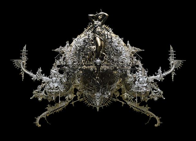 , 'Black Gold Aphrodite,' 2015, Joshua Liner Gallery