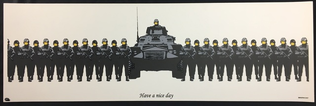 Banksy, 'Have A Nice Day (Unsigned)', 2002, Prescription Art
