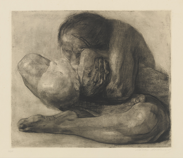 Käthe Kollwitz, 'Woman with Dead Child', 1903, Drawing, Collage or other Work on Paper, Etching, drypoint, sandpaper and soft-ground on paper, Clark Art Institute