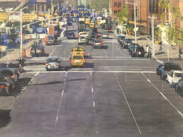 , 'Street Scene: Chelsea,' 2015, Aicon Gallery