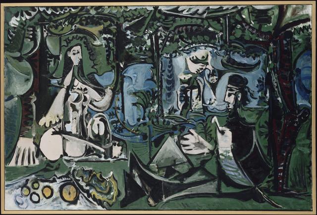 Pablo Picasso, 'Le Déjeuner sur l'herbe d'après Manet (Luncheon on the the Grass, After Manet)', 1960, Painting, Oil on canvas, Musée Picasso Paris